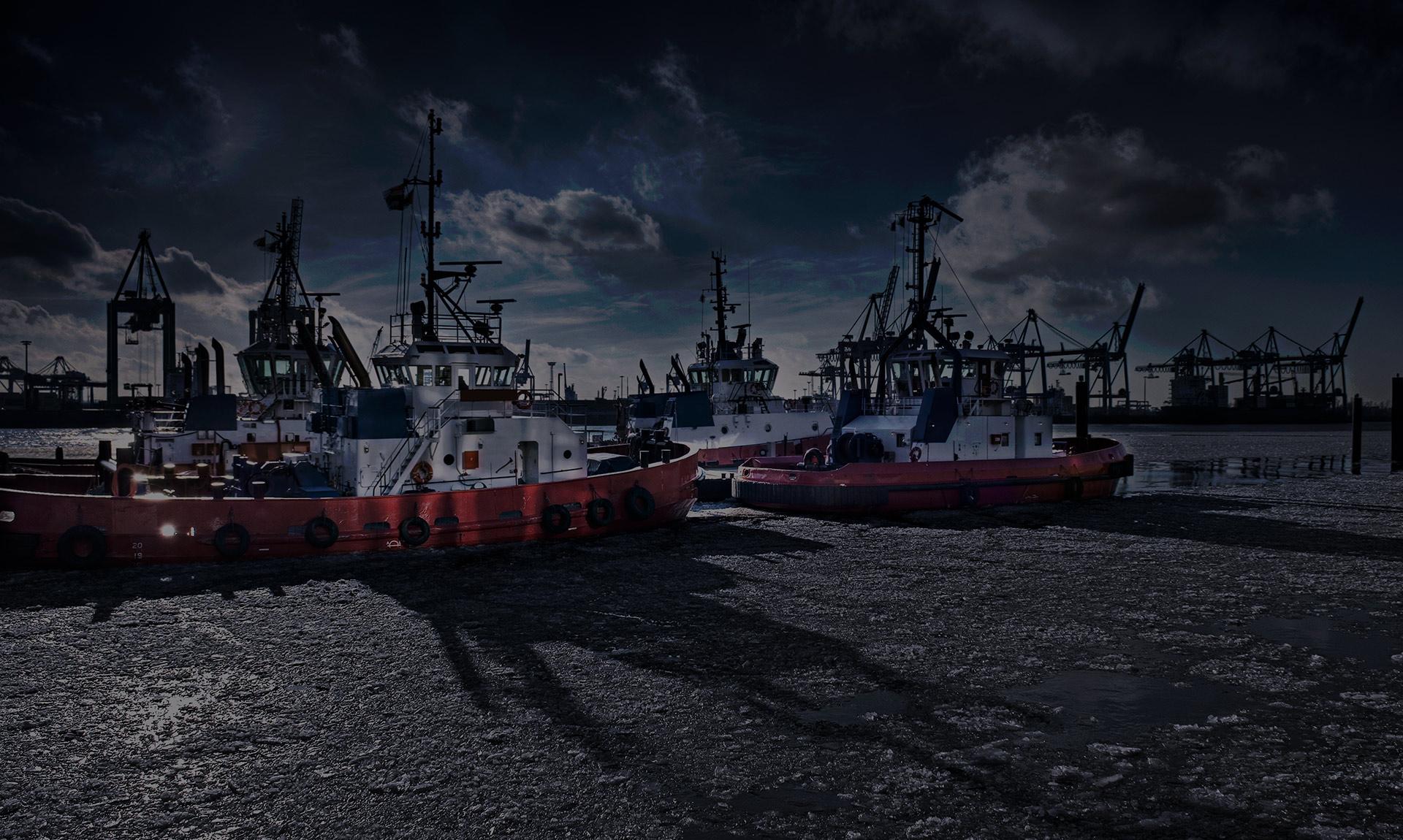 olie voor marine en scheepvaart
